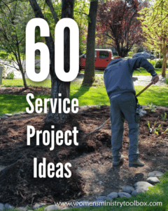 Service projects for youth groups